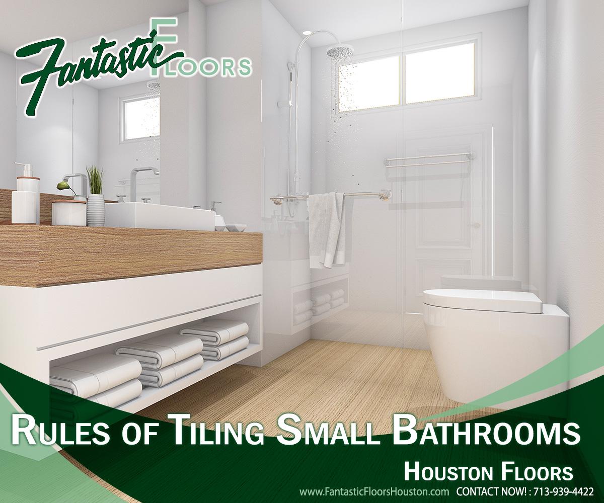 Fantastic Floors, Inc. - Rules of Tiling Small Bathrooms