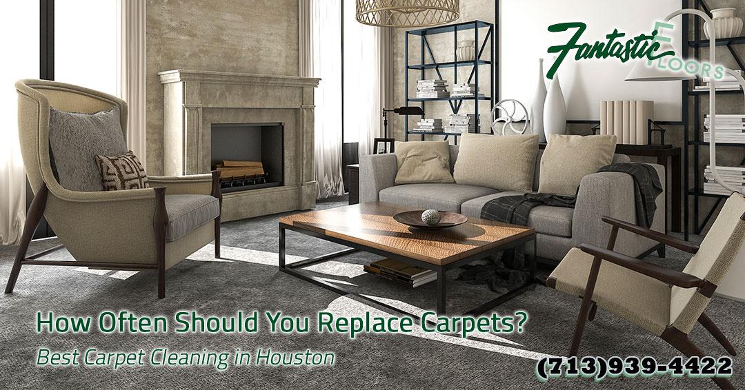 Fantastic Floors, Inc. - How Often Should You Replace Carpets?