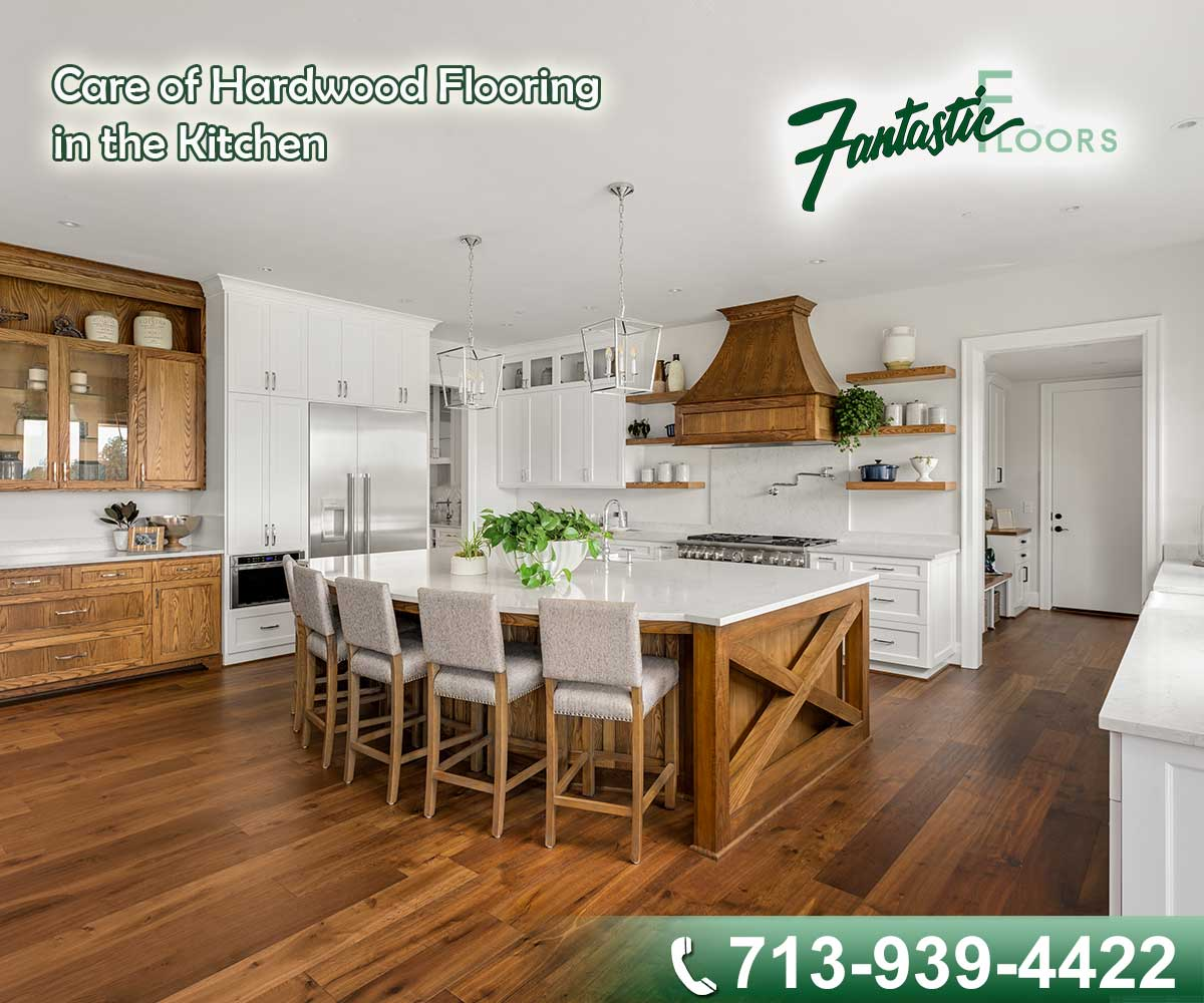 Care Of Hardwood Flooring In The Kitchen